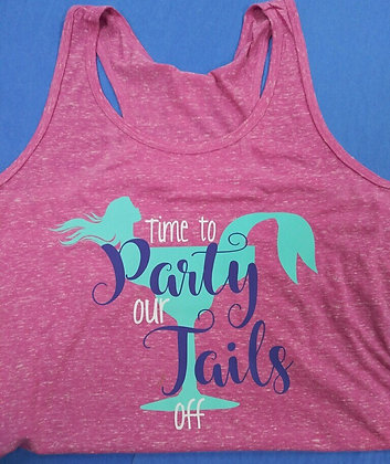 Time to Party Our Tails Off Tank Top
