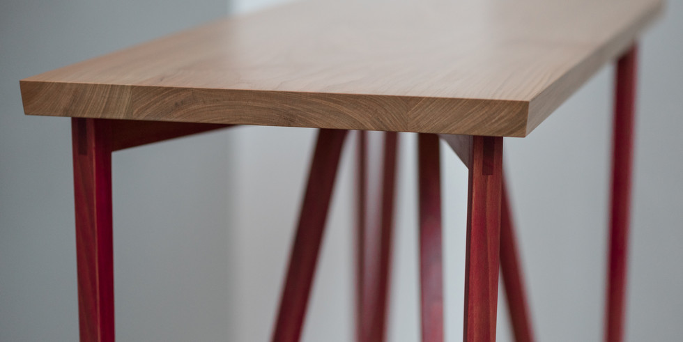 Cherry & Beetroot Side Table by Hatstand Design