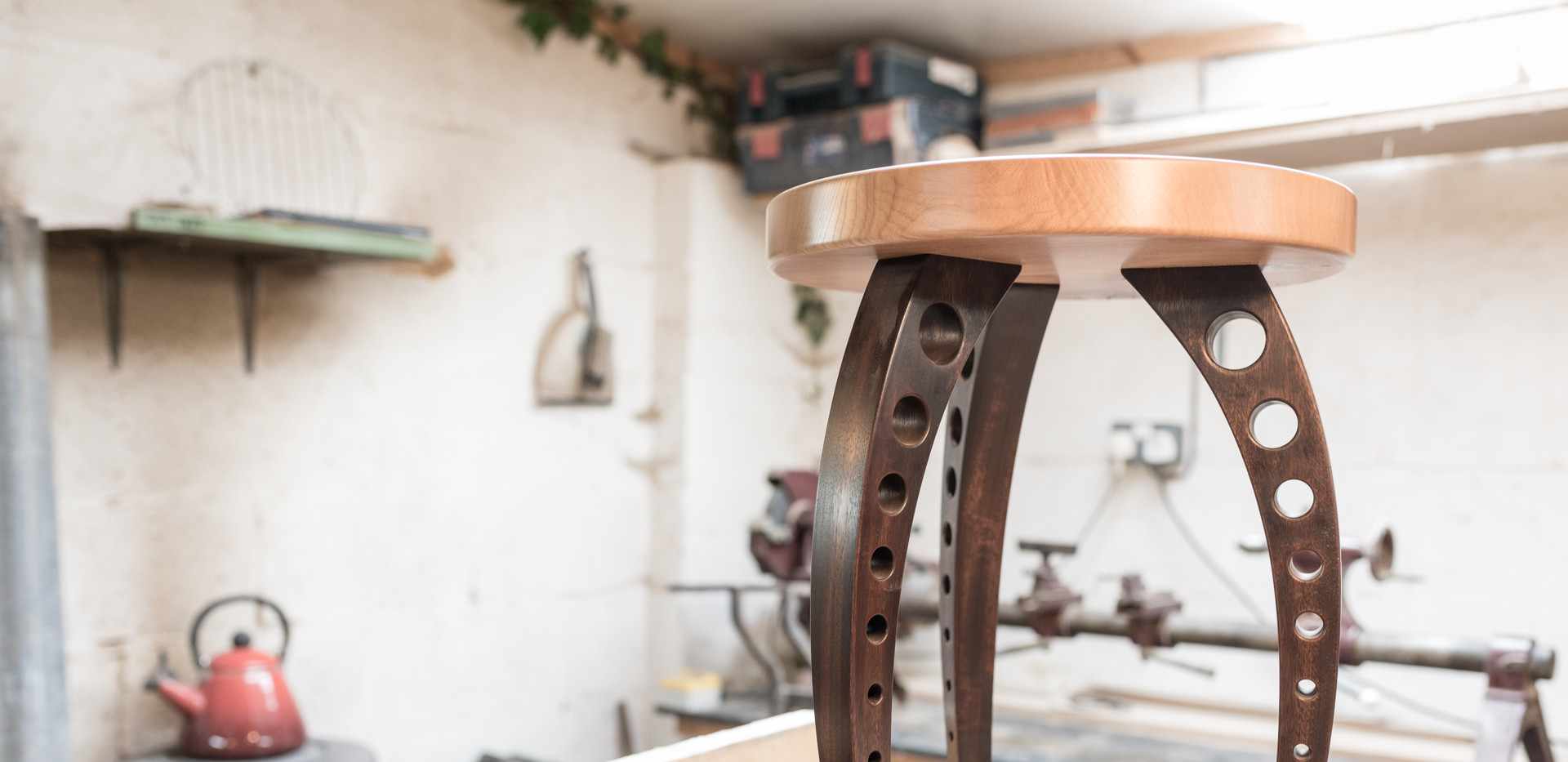 Elm Stool by Hatstand Design