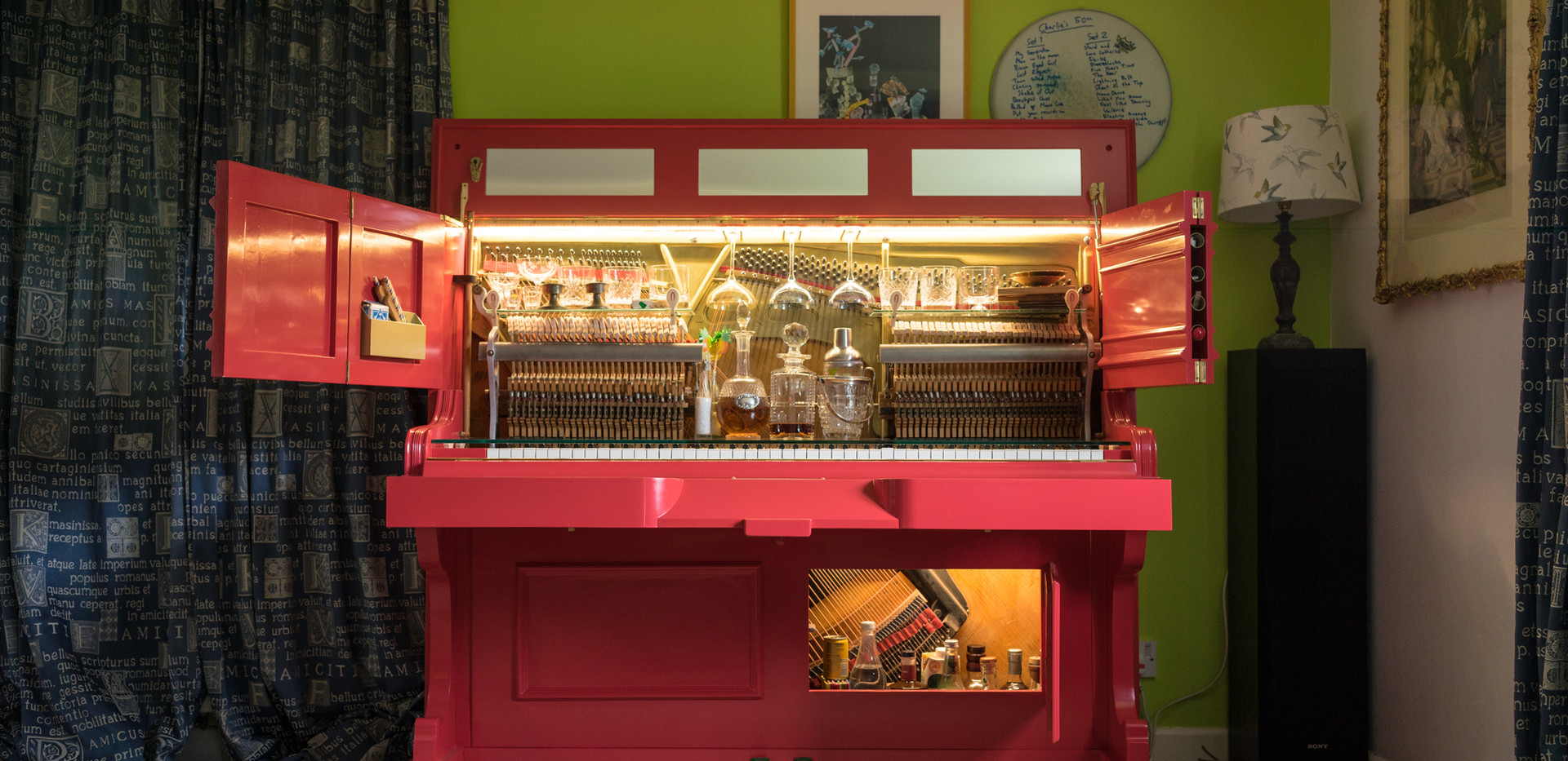 The design for life journey of the Gentleman's Piano Bar