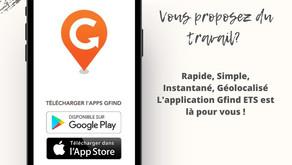 Comment s'inscrire sur l'application GFIND ETS ?