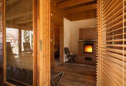 Sauna istumisruum