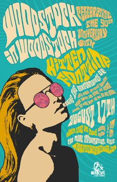 Woodstock Tribute Poster