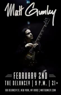Matt Gumley Poster