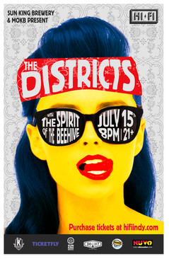 The Districts Poster