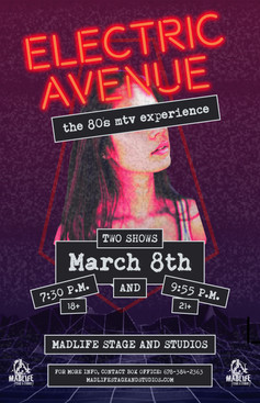 Electric Avenue Poster