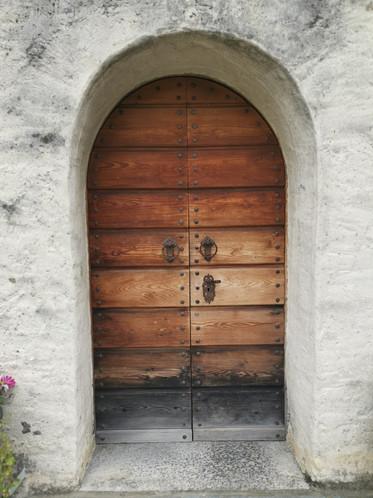 Kirchentür Einigen