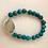 Thumbnail: Turquoise Beaded Bracelet