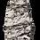 Thumbnail: Silver Teardrop Druzy Pendant