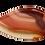 Thumbnail: Red & Orange Teardrop Agate Pendant