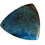 Thumbnail: Dark Teal Triangle Agate Pendant