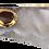 Thumbnail: White Slice Agate Pendant with Druzy