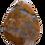 Thumbnail: Rust Colored Teardrop Pendant
