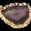 Thumbnail: Purple Agate Slice Pendant