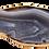 Thumbnail: Long Grey Agate Slice Pendant