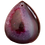 Thumbnail: Magenta & Maroon Teardrop Agate Pendant