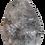 Thumbnail: Gray and White Teardrop Pendant