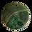 Thumbnail: Shades of Green Dragon Veins Round Pendant