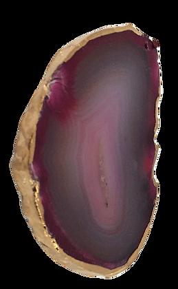 Magenta Kidney Agate Slice