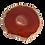 Thumbnail: Round Amber Agate Slice Pendant