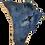 Thumbnail: Blue Druzy Connector Pendant