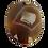 Thumbnail: Brown Round Agate Slice