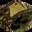 Thumbnail: Green Sea Sediment Jasper Fan Pendant