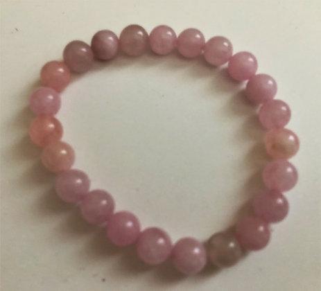 Rose Quartz Stretch Bracelet Healing Meditation Beads