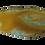 Thumbnail: Dark Yellow Agate Slice Pendant