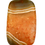 Thumbnail: Orange & Brown Square Agate Pendant