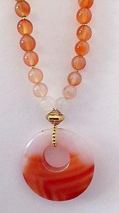 Stunning Carnelian Necklace