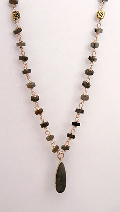 Stunning Labradorite Necklace