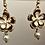 Thumbnail: Flower Floral Drop Earrings