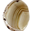 Thumbnail: Brown and Beige Agate Slice Pendant