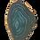 Thumbnail: Green and White Agate Pendant