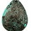 Thumbnail: Sea Green Teardrop Jasper Pendant
