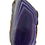 Thumbnail: Long Purple Agate Pendant
