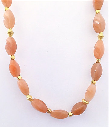 Orange Carnelian Necklace