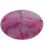 Thumbnail: Oval Pink and White Agate Pendant