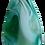 Thumbnail: Green Teardrop Agate Pendant