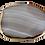 Thumbnail: Shades of Gray Agate Pendant