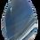 Thumbnail: Hues of Blues Agate Slice Teardrop