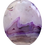 Thumbnail: Clear and Purple Agate Pendant