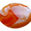 Thumbnail: Orange and White Agate Pendant