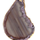 Thumbnail: Shades of Pink and Brown Agate Pendant