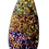 Thumbnail: Long Teardrop Titanium Druzy Pendant