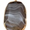 Thumbnail: Brown and White Oval Agate Pendant