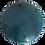Thumbnail: Round Dark Teal Pendant