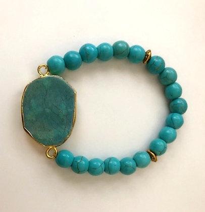 Pretty Turquoise Stretch Bracelet