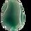 Thumbnail: Green Round Oblong Agate Pendant